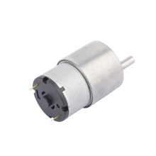 Eccentric shaft output dc gear motor with reduction gear
