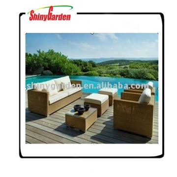 muebles de jardín de los sofás de lujo de la rota, sofá usado de la rota en venta, sofá de la rota sintética