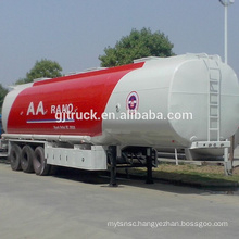 3 Axles fuel tank trailer with 46000L capacity with 6 compartment with europe standard auto parts