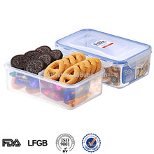 2014 EASYLOCK Plastic food compartment storage box
