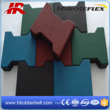 Dog Bone Paver/Stable Rubber Flooring Tile