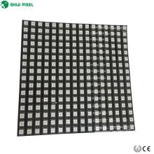 Pantalla de visualización de matriz del panel led flexible ws2811 ws2812b 5050 direccionable individualmente 8x8 16x16 píxeles 8x32 P10