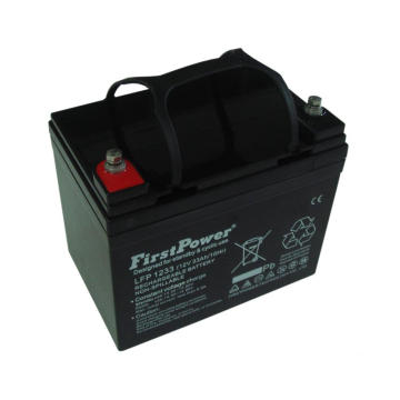 PVC الرئيسية powerReserve GEL Battery 12V33AH