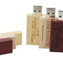 Professional Gift USB Flash Drive  Wide rectangle Shape 1GB 2GB 4GB 8GB wood USB Flash Usb Flash 2.0 Drive