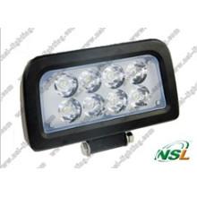 12V 24V 24W LED lámpara de luz de trabajo fuera de carretera 4X4 CREE LED proyector