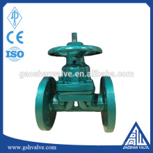Carbon steel Diaphragm Valve PN16 with handwheel
