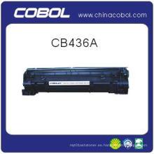 BK cartucho de tóner de impresora láser CB436A para HP M1120 / M1120n / M1522NF / M1522n / 1505 / 1505n / 1319