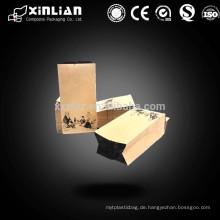 Hochwertige Aluminiumfolie Papiertüte / Aluminiumfolie Tasche mit Reißverschluss