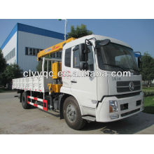 5T Sraight boom truck-mounted crane with XCMG crane