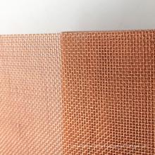 180 Masche Plain Weaving Knitting Copper Wire Mesh für die Abschirmung