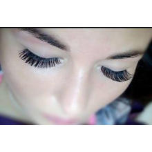 OEM Darkness Strip Natural False Eyelashes Criss Corsses ,