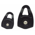 Hot Forged Small Aluminum Pulley For 13mm and 16mm Rope
