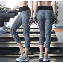 Pantalones de yoga Activewear Leggings 3/4 para mujer