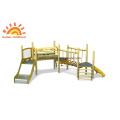 HPL Small Structures Wooden Bridge Park For Toddler