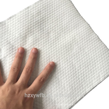 Nonwoven spunlace fabric reusable kitchen cleaning wipe