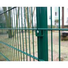 double wire mesh panel fence