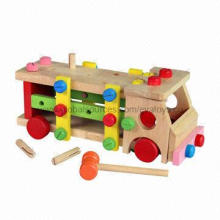 EN 71 Wooden Puzzle Toys for Preschool Educational, Measures 31x13.5x12.5cm/Beech Wood and MDF