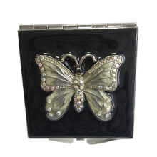 Black butterfly Makeup mirror