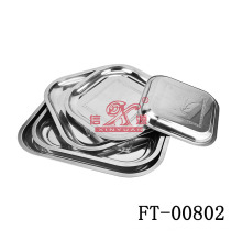 Equerre inox servant de plaque (FT-00802)