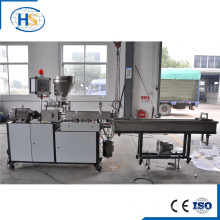 Lab Twin Screw Extruder Tse-20 in Plastic Machinery