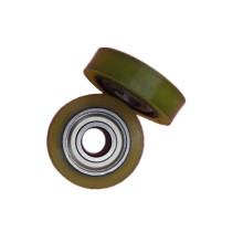 roulement de poulie en plastique non standard 608 pour glissière de porte
