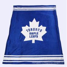 постельное белье тяжелый логотип напечатан одеяло шерпа