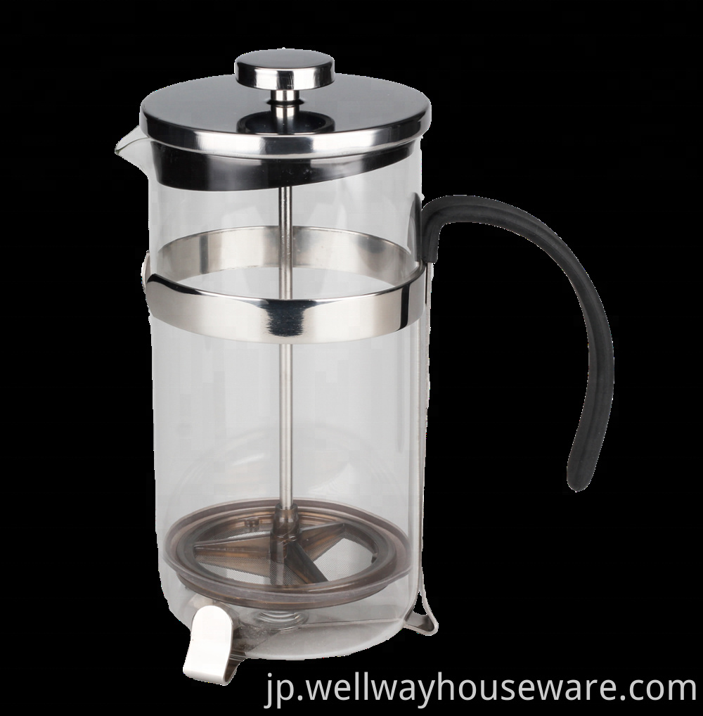 Glass Tea Press Coffee Pot