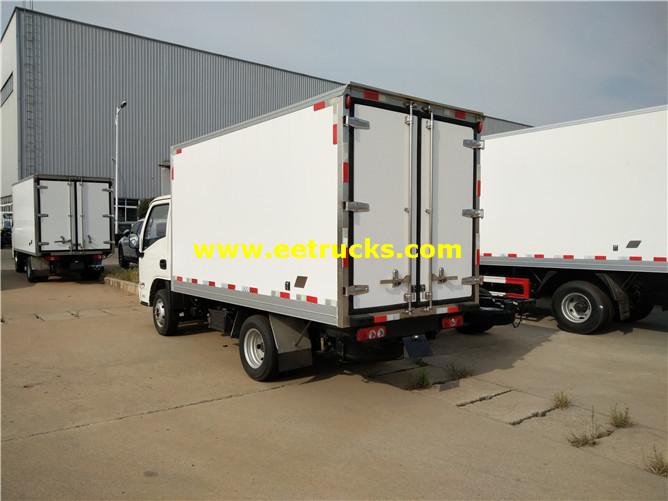 Refrigerated Van Vehicle