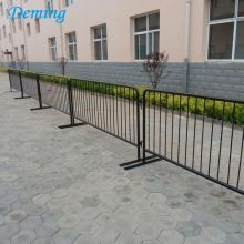 Digunakan Powder Coated Crowd Control Barrier Road