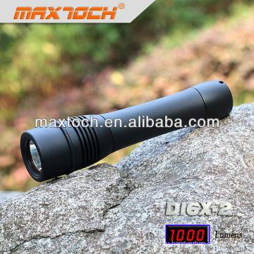 Maxtoch номер DI6X-2 Водонепроницаемый дайвинг Кри T6 светодиодный фонарик