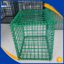 Revêtement en PVC soudé Gabion Galvanized Wire Mesh Box