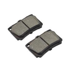 D733 China auto brake pads factory wholesales custom high performance automobile brake pads for MITSUBISHI montero