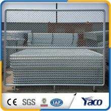 Mejor precio Galvianzed 2.4mx3m 3.15mm de diámetro del alambre Chain Link Fence Panel