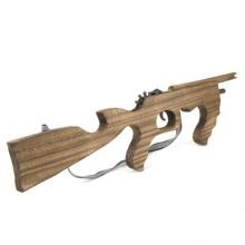 armas de elástico para crianças arma de brinquedo atirador de madeira para atacado