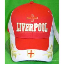 Gorra deportiva de lona de algodón para el club de fútbol