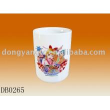 11.5oz porcelain straight cup
