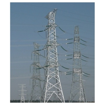 Estructura de la torre de comunicación acero transmisión