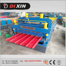 Dx Steel Glazed Roof Tile Roll Forming Machine