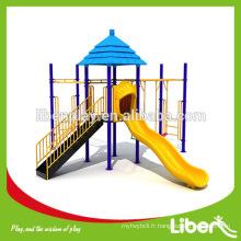 Enfants simple toboggan extérieur utilisé matériel de jeux scolaires jouets pour enfants en plein air à vendre