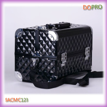 Black Diamond ABS Cheap Traveling Makeup Case with Four Trays (SACMC123)