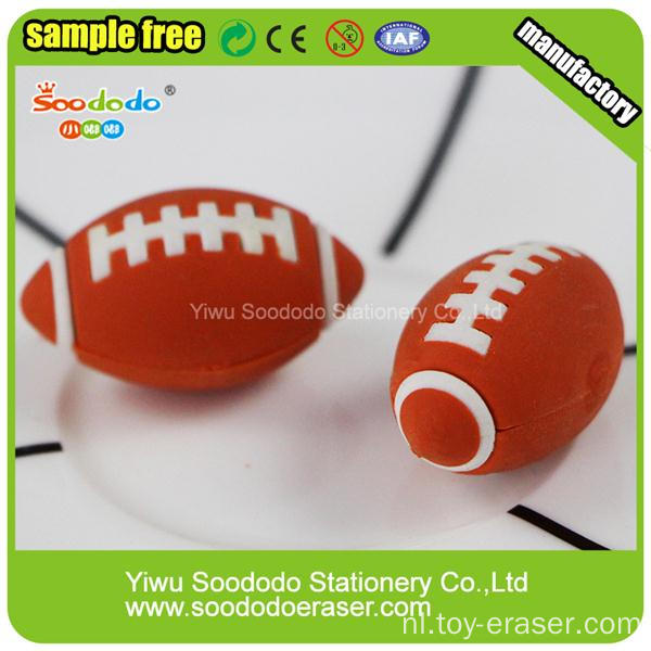 Populaire Sport Goederen Ball Shaped Eraser