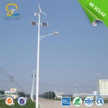 la turbina de viento impermeable enciende el poder híbrido solar de la luz de calle llevado