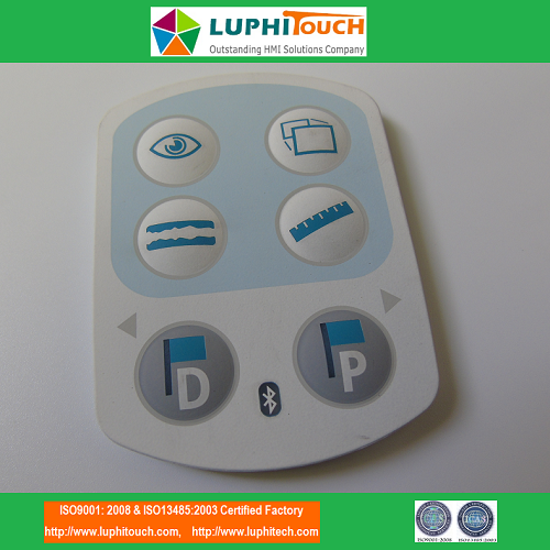 Laser Etching Backlight Rubber Keypad