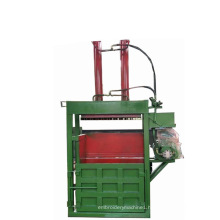 Double Chamber Vertical Clothing Baler for Clothing Textile Recycling Machinery