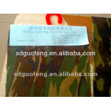 TC Camouflage Fabric for Military/Army Uniform T/C 21*21 108*58
