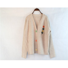Moda Otoño Invierno Mujer Cardigan Suéteres