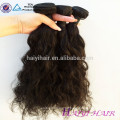 Full Cuticle One Donor sin procesar entrega rápida negro Short Hair Angels Hair Weaving
