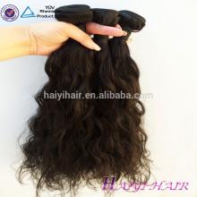Volle Häutchen-ein Spender-unverarbeitete schnelle Lieferungs-schwarze kurze Haar-Engels-Haar-Webart
