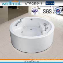 Circular Round Whirlpool Massage Bathtub with Cupc