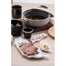 100%меламин посуда/меламина ужин чаша/ блюдо соусом (CC16203)